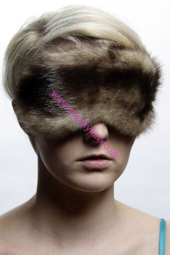 Blindfold - Faux Fur