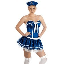 Cheeky Sailor Girl - Sexy Fancy Dress (Fun Shack 2404)