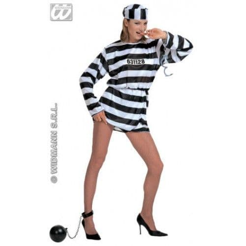 Convict - Sexy Fancy Dress (Widmann)