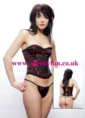 Corset and G-String (C2 90631)