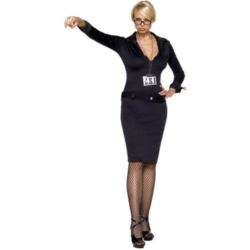 CSI Costume - Sexy Fancy Dress (Leg Avenue 83136)