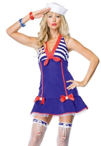 Darling Deckhand - Sexy Fancy Dress (Leg Avenue)