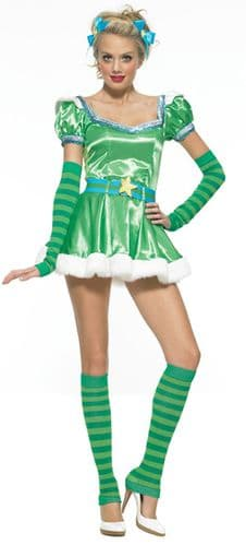 Emerald Girl - Sexy St Patrick's Fancy Dress (Leg Avenue 83414)