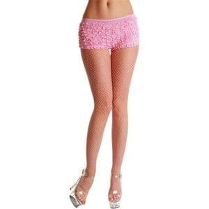 Fishnet Tights - Baby Pink (Smiffys 28929)