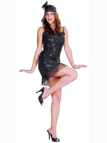 Flapper Dress - Sexy Fancy Dress (Funtastik 420502)