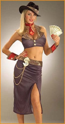 Glamour Gangster - Sexy Fancy Dress (Forum 59489)