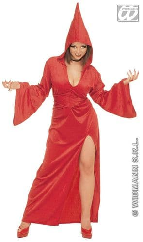 Gothic Temptress - Fancy Dress (Widmann 3118V) - Red
