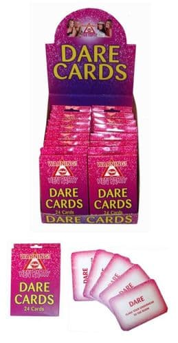 Hen Night Dare Cards - Pack of 24