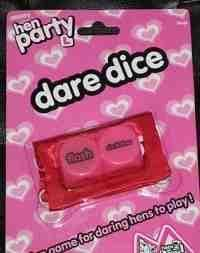 Hen Party Dare Dice - Naughty Game