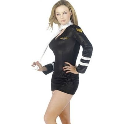 Miss Pilot - Sexy Fancy Dress (Classified GW2331)