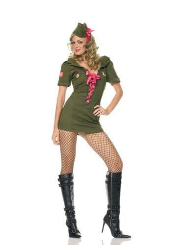 Pin-Up Cadet - Sexy Fancy Dress (Leg Avenue 83372)