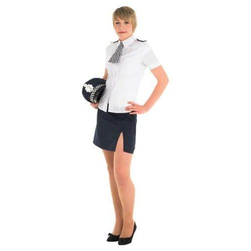 Policewoman - Sexy Fancy Dress (Rubies 889504)