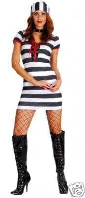 Prisoner Lady - Sexy Fancy Dress