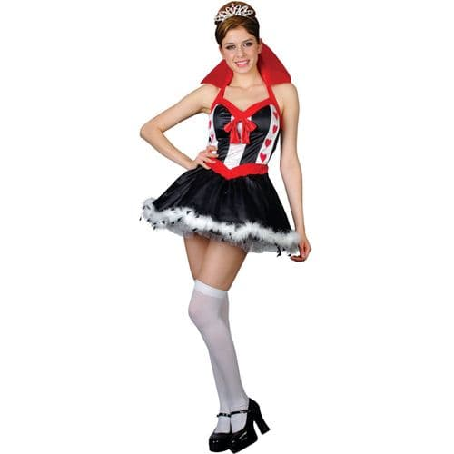 Queen Of Hearts - Sexy Fancy Dress Costume (Wicked SF-0014)