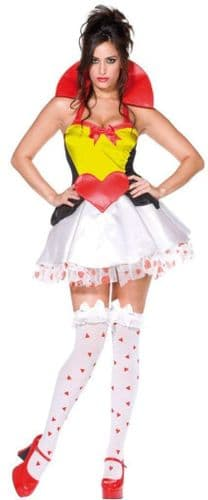 Queen of Hearts - Sexy Fancy Dress (Smiffys 33279)