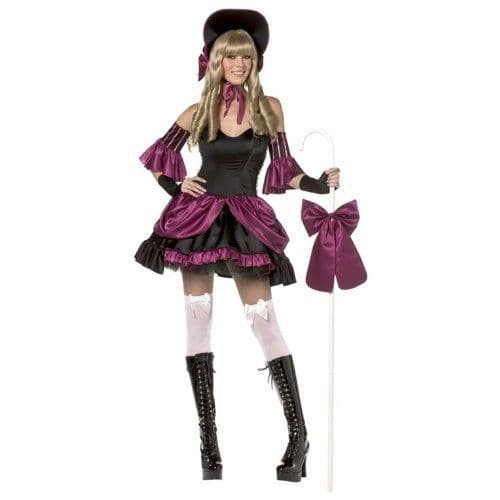 Rebel Toons 'Little Bo Peep' Sexy Fancy Dress (Smiffys 30636)