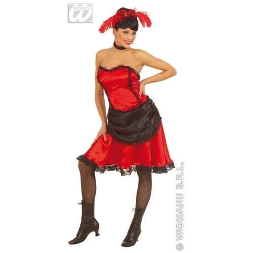 Saloon Beauty - Sexy Fancy Dress Costume (Widmann 56751)