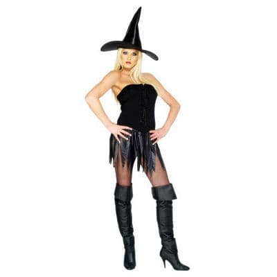Saucy Witch Sexy Fancy Dress (Smiffys 23200)