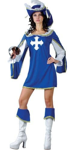 Sexy Musketeer - Fancy Dress Costume (Wicked SF-0080)