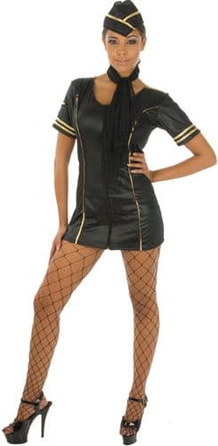 Sexy Stewardess - Fancy Dress (Costume Republic 70676)