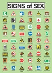 Signs Of Sex - Wall Poster