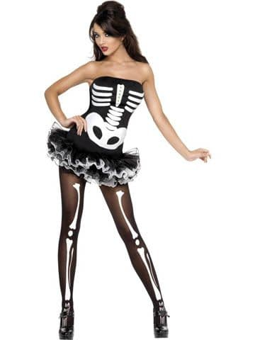 Skeleton - Sexy Halloween Fancy Dress (Smiffys 31969)