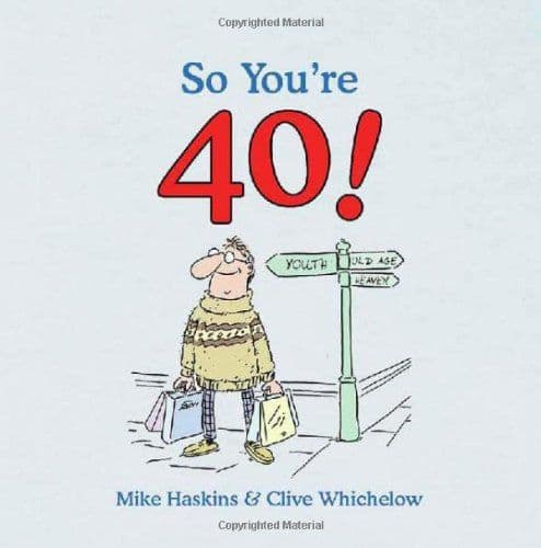 So You're 40! - Funny Book