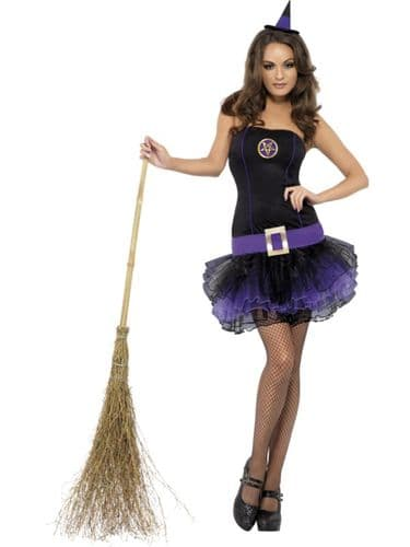 Tutu Witch - Sexy Halloween Fancy Dress (Smiffys 23211)