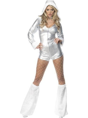 White Christmas - Sexy Fancy Dress Costume (Smiffys 33080)