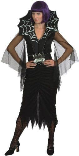 Widow's Web - Sexy Halloween Fancy Dress Costume (Smiffys 20401)