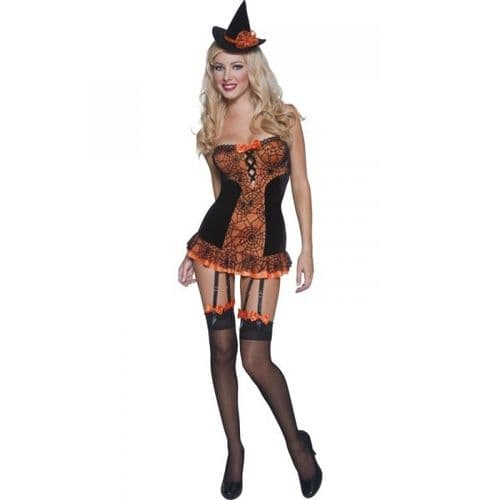 Witch - Sexy Halloween Fancy Dress (Smiffys 34287)