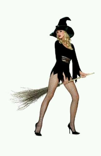 Witchy-Poo' - Sexy Halloween Fancy Dress (Leg Avenue 83244)