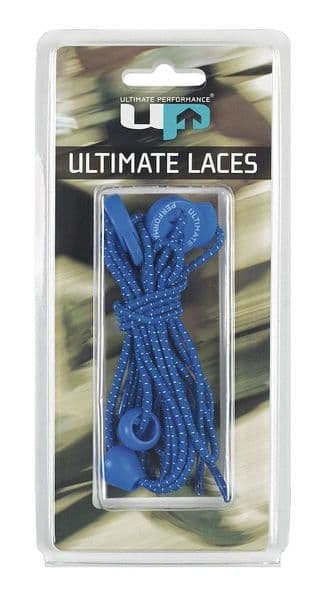 Blue Ultimate Performance Elastic Lock Laces