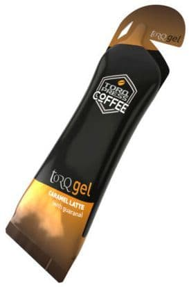 TORQ Energy 45g Gel - Caramel Latte (with Guarana)