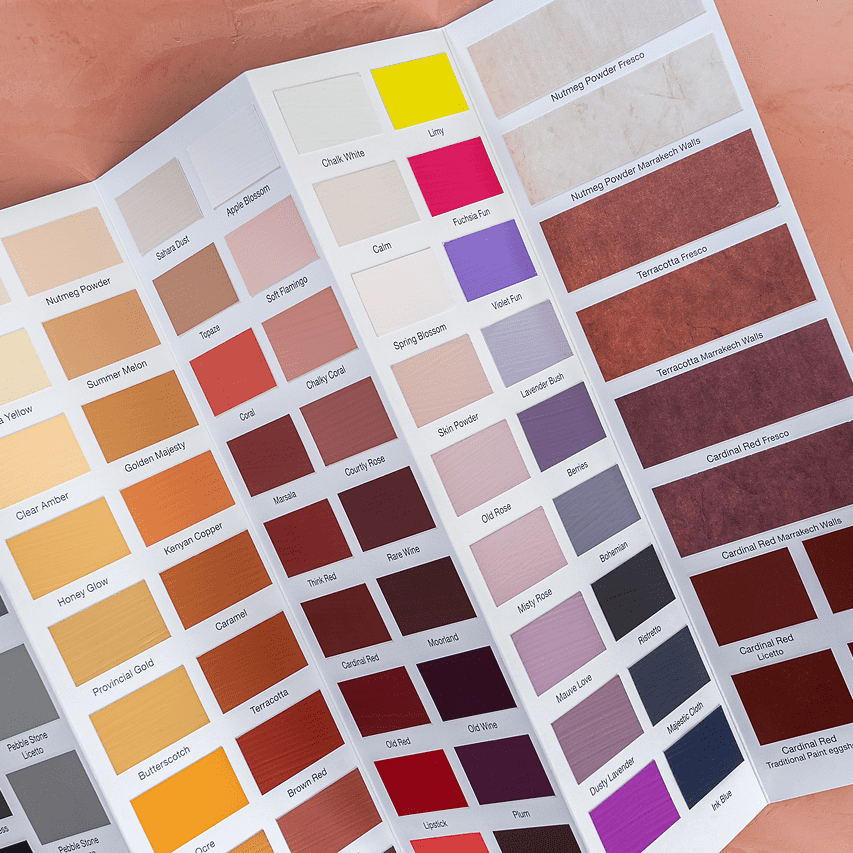 NEW Edition colour chart