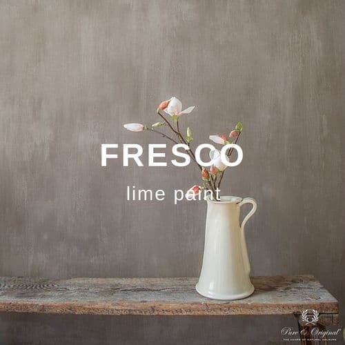 Pure and Original Fresco lime paint