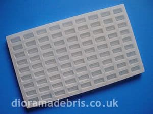 1:16 Scale UK Standard Size Imperial Bricks Mould (1160066)