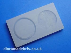 1:24 Scale Manhole Cover and Frame Mould (1240077)
