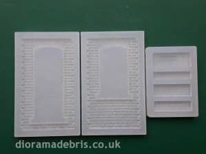 1:35 Scale Segmental Brick Arch (English Bond) Moulds (1350086)