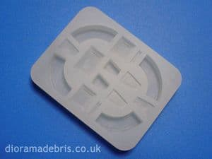 1:35 Scale Victorian Terrace Arches Mould (1350072)