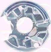 MERCEDES (W124) E-KLASSE 84-............ SPLASH PANE  BRAKE DISC, REAR AXLE LEFT, DIAMETE