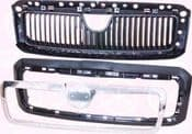 SKODA OCTAVIA 97-03 (1U) RADIATOR GRILLE, FULL BODY SECTION kk7520991A1