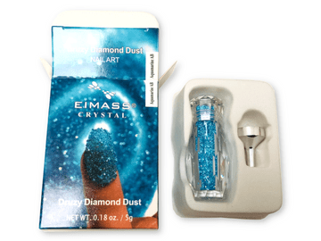 Aquamarine AB - EIMASS® Druzy Diamond Dust 3D Nail Art Crystals