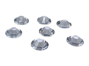Clear Crystal, EIMASS® Resin Flat Back Non Hotfix Rhinestones