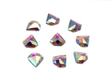 Crystal AB DiamondHot Fix, EIMASS® 7737 Tiny Glass Crystals