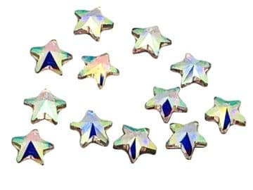 Crystal AB Star, EIMASS® 8830 Tiny Glass Crystals - Nail Art
