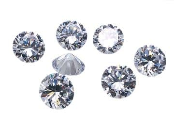 Crystal Chatons, EIMASS® Exquisite Range Synthetic Diamonds