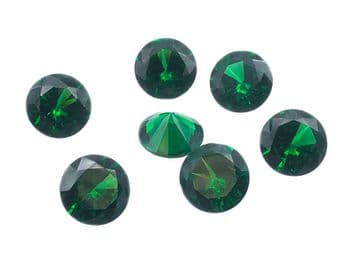 Emerald Green Chatons, EIMASS® Exquisite Range Synthetic Diamonds