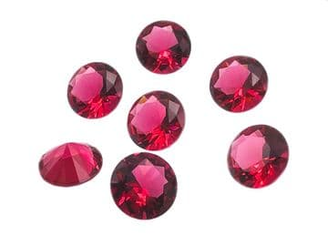 Hot Pink Chatons, EIMASS® Exquisite Range Synthetic Diamonds
