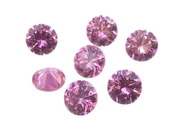 Light Pink Chatons, EIMASS® Exquisite Range Synthetic Diamonds